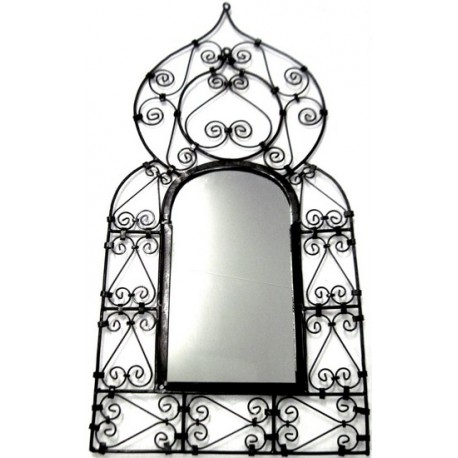 achat miroir marocain en fer forg 45 x 91 cm aladin. Black Bedroom Furniture Sets. Home Design Ideas